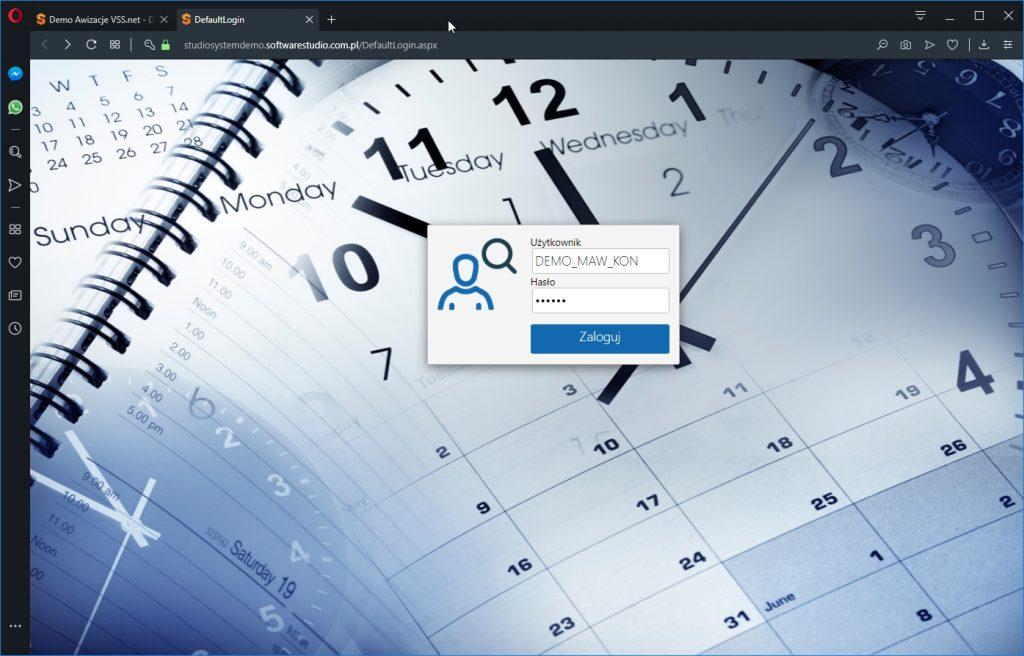 zarządzanie oknami czasowymi Platforma do awizacji