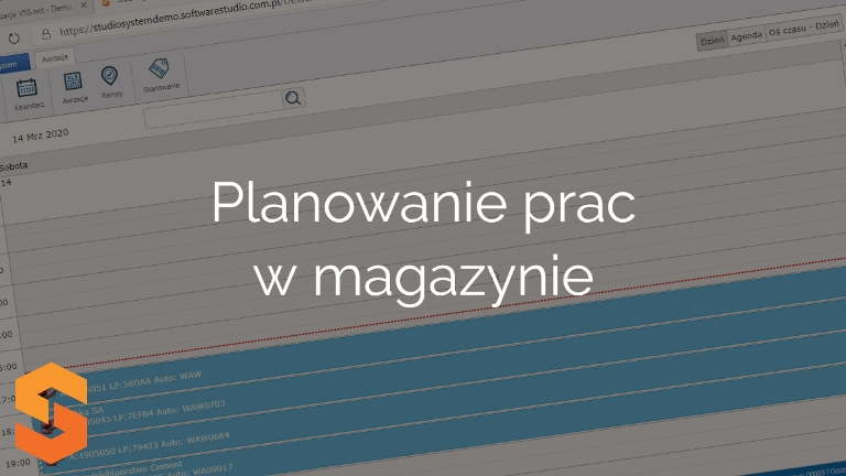 Planowanie pracy magazynu