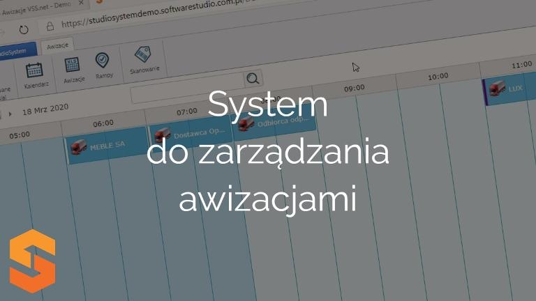 System zarządzania awizacjami